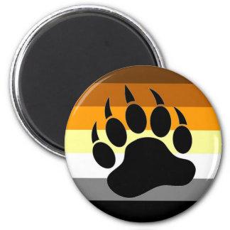 Bear Pride Paw Fridge Magnet