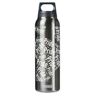 BEAR PRIDE PAW PATTERN WHITE -.png 16 Oz Insulated SIGG Thermos Water Bottle