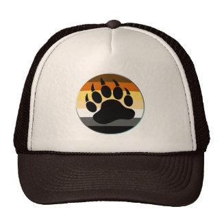 Bear Pride Rainbow Flag Circle And Claw Trucker Hat