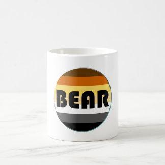 Bear Pride Rainbow Flag Circle Bear Classic White Coffee Mug