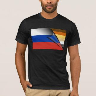 Bear Pride Russian Flag T-Shirt