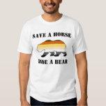 Bear Pride Save A Horse Ride A Bear Tshirts