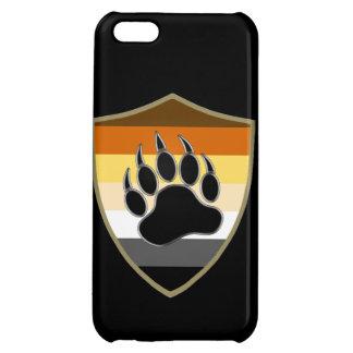 Bear Pride Shield Bear Paw - iPhone 5 Glossy Case