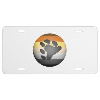 BEAR PRIDE SPHERE -.png License Plate