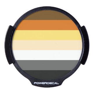 BEAR PRIDE STRIPED HORIZONTAL - 2014 PRIDE.png LED Car Window Decal