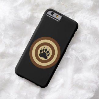 Bear Pride Super Hero Shield Bear Paw Barely There iPhone 6 Case