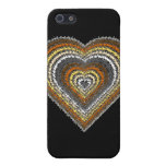 Bear Pride Tribal Heart iPhone SE/5/5s Cover