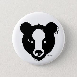 bear punk button
