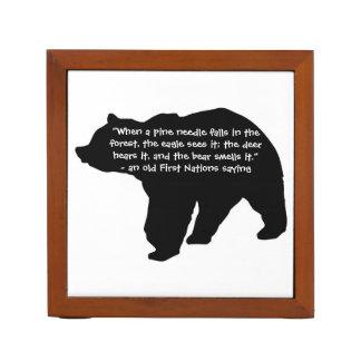 Bear Quotes Pencil/Pen Holder