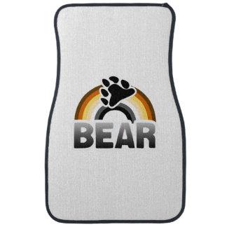 BEAR RAINBOW FLAG 2 -.png Floor Mat
