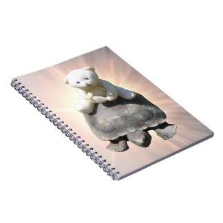 Bear riding Turtle Notebook