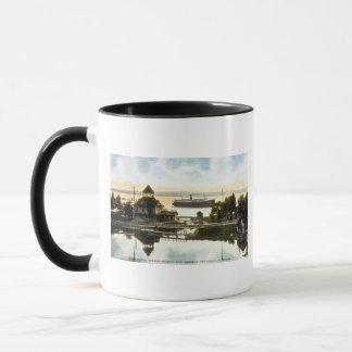 Bear River, Water Works and Harbor, Petoskey, Mich Mug
