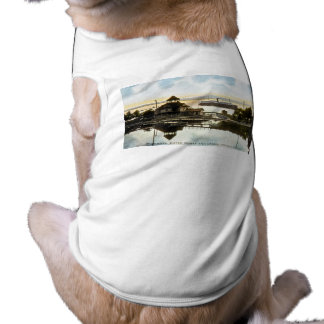 Bear River, Water Works and Harbor, Petoskey, Mich Tee