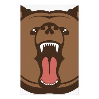 Bear Roar Stationery