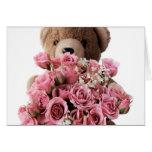 bear roses card
