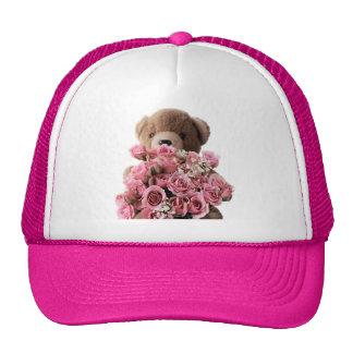 bear roses hat