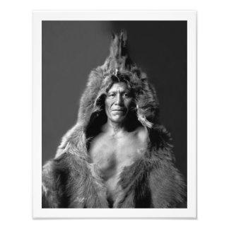 Bear s Belly - An Arikara Medicine Man Photographic Print