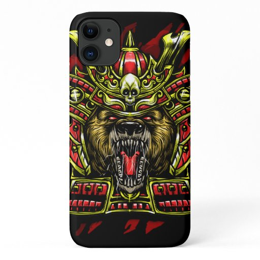 Bear Samurai Warrior iPhone 11 Case