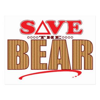 Bear Save Postcard