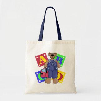 Bear School Blocks Gift Bags