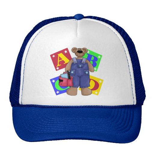 Bear School Blocks Gift Trucker Hat