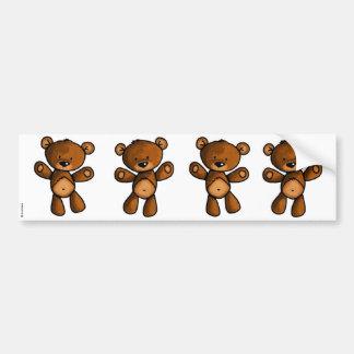 bear scrapbook stickers