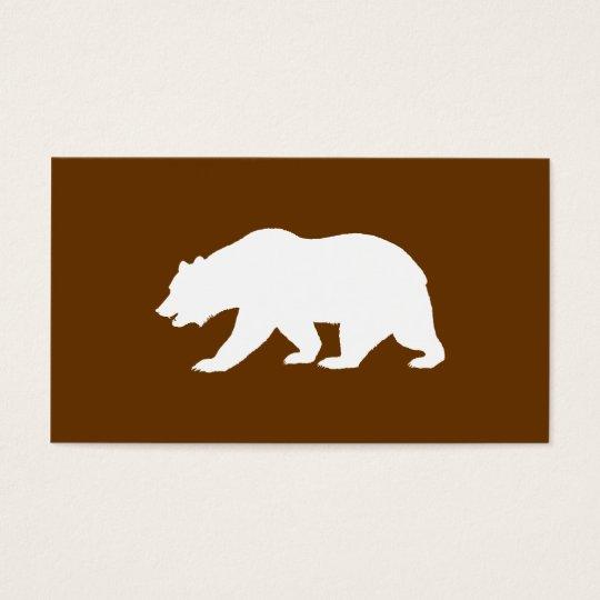 Bear Shape Business Card