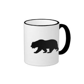 Bear Shape Ringer Mug