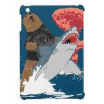 Bear Shark Escape iPad Mini Case