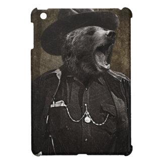 Bear Sheriff Wild Fun iPad Mini Cases