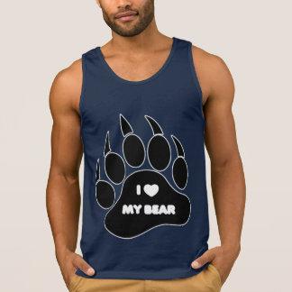 Bear Shirt I Heart my Bear in The Paw - Shirt