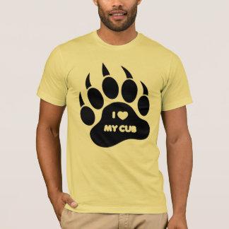Bear Shirt I Heart my Cub in The Paw - Shirt