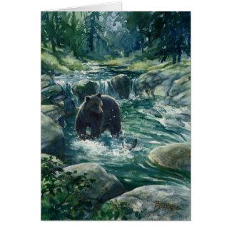 Bear Sighting 2 Greeting Card