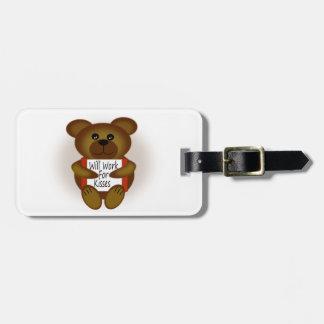 Bear Sign Bag Tag