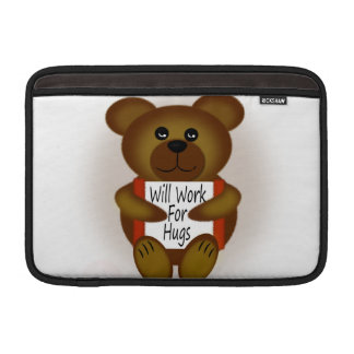 Bear Sign Sleeve For MacBook Air