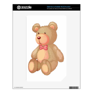 bear NOOK color decal
