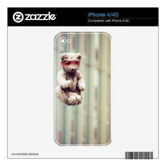 bear skin for iPhone 4