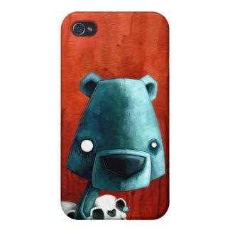 Bear skull cover for iPhone 4