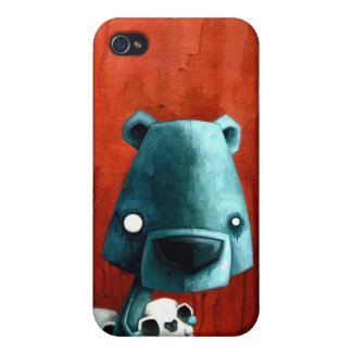 Bear skull covers for iPhone 4