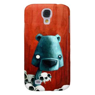 Bear skull galaxy s4 cover