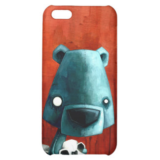 Bear skull iPhone 5C cases