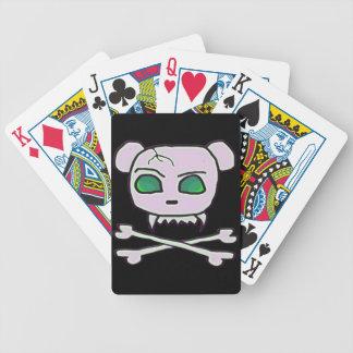 Bear Skull Deck Of Cards