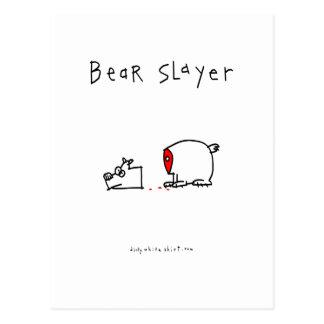 Bear Slayer Postcard