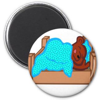 Bear Sleeping Magnet