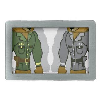 Bear Soldier Belt Buckle