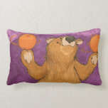 Bear Spinning Oranges / Pillow