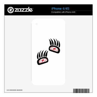 Bear Spirit Decal For The iPhone 4S