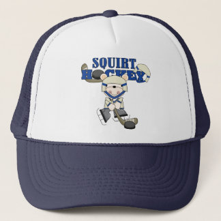 Bear Squirt Hockey Blue Tshirts and Gifts Trucker Hat