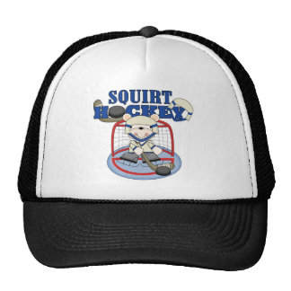 Bear Squirt Hockey Goalie Tshirts and Gifts Trucker Hat
