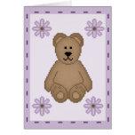 Bear Stamp Greeting Card